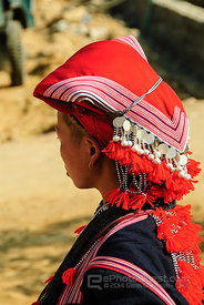 Red Zao Woman