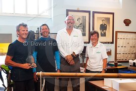 Prize-giving at Weymouth Regatta 2018, 20180909028.