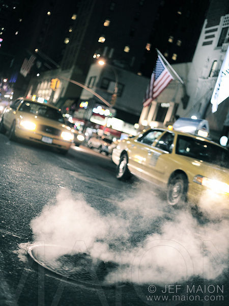 Smoke, sewer and taxis