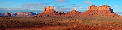 Morning at Monument Valley #2