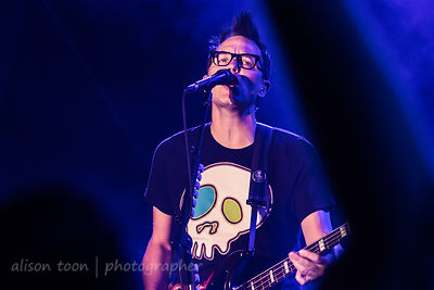 Mark Hopper, vocals, Blink 182