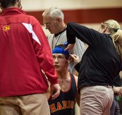 Wrestling Duals at Cedar Rapids Washington High School, November 27, 2012