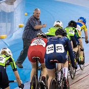 Elite/Junior Women Points Race. Ontario Track Championships, March 4, 2018