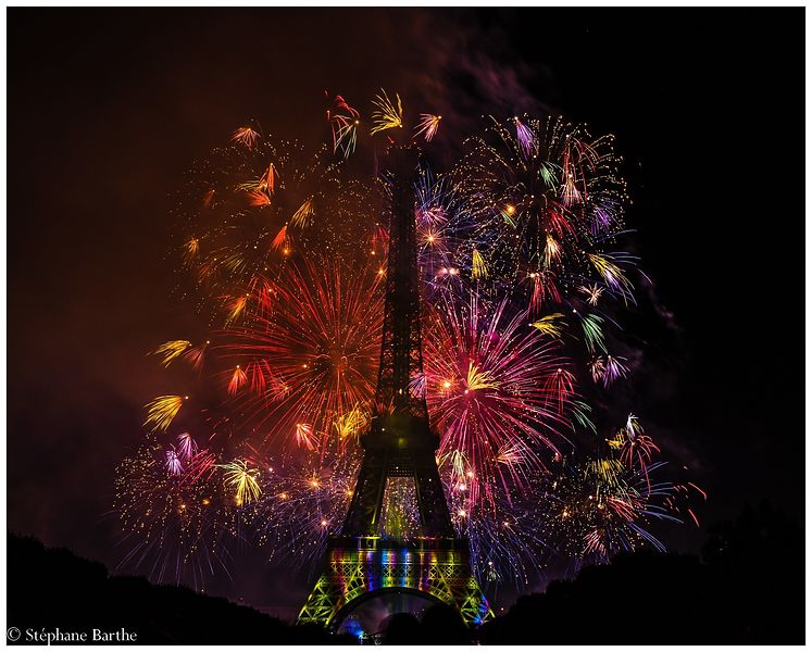 Feu d'artifice (juillet 2015) photos