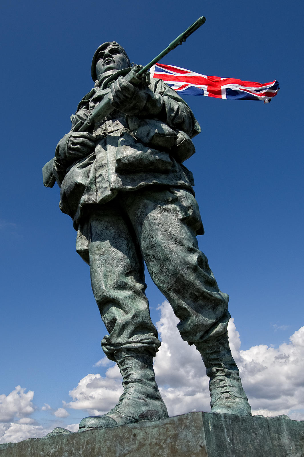 Yomper Commemorative Statue at Royal Marines Museum, Southsea