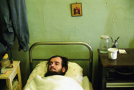 Tuberculosis patient in Russia