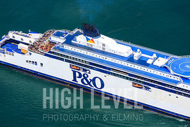 Aerial Photography Taken In and Around Dover-P&O Ferries