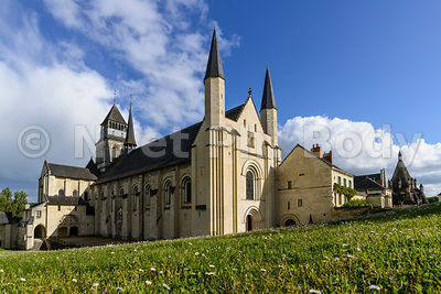 FRANCE, MAINE ET LOIRE, ABBAYE DE FONTEVRAUD//France, Maine et Loire, Fontevraud Abbaye, Loire Valley, Abbey Of Fontevraud