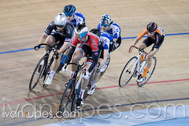 Junior Men Keirin Round 1. 2016/2017 Track O-Cup #1, Mattamy National Cycling Centre, Milton, On, December 4, 2016
