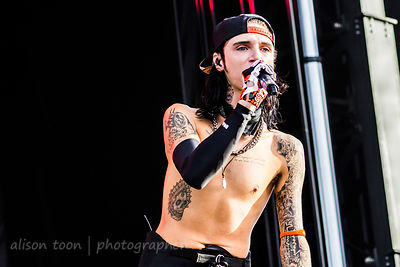 Andy Biersack, vocals,, Black Veil Brides
