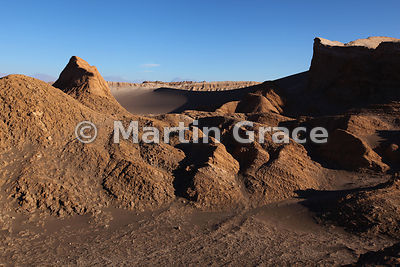 Valley of the Moon (Vallee de la Luna), Atacama, Region ll Antofagasta, Chile