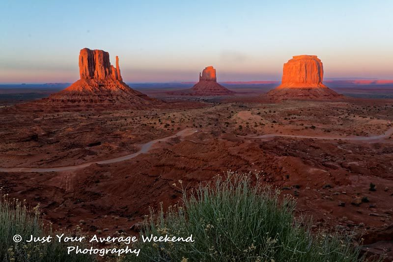 Antelope Canyon, Monument Valley, and The Wave landscape photos