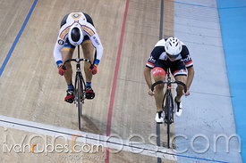Master C Men Sprint 1-2 Final. Canadian Track Championships, Mattamy National Cycling Centre, Milton, On, September 25, 2016