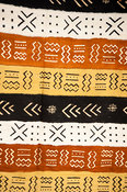Mud cloth, Centre for National Culture, Accra, Ghana
