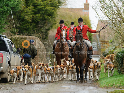 The Belvoir Hunt at Springfield Farm 25/2 photos
