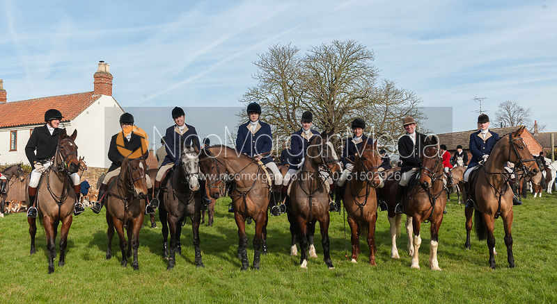 The Belvoir Hunt at Farrier's Forge, Hose 16/2 photos