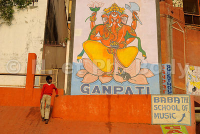 INDE, VARANASI, LES GHATS,//INDIA, VARANASI, THE GHATS