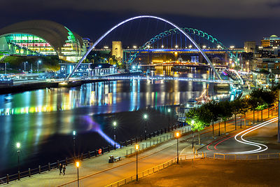 The Tyne at Night (2)