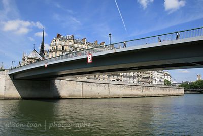 Bridge over the Seine, Paris, France