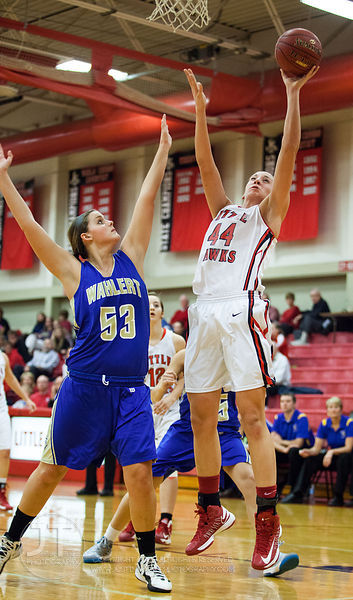 Iowa City High vs Dubuque Wahlert Girls Basketball December 14, 2012