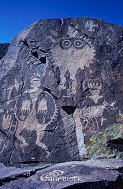 Anasazi rock art