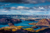 Wanaka Lake from Trebble Cone