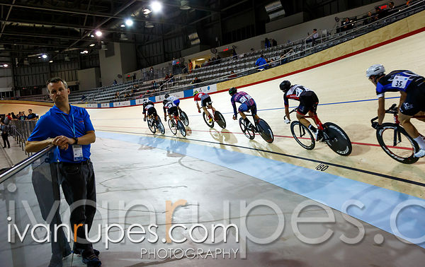 Men's omnium points race. 2014 Canadian Track Championships, January 5, 2015