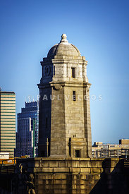 Boston Longfellow Bridge Tower Photo
