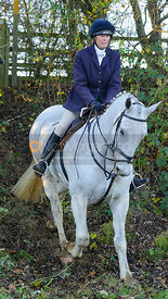 Monica Wheat - The Cottesmore Hunt at Owston 29/11