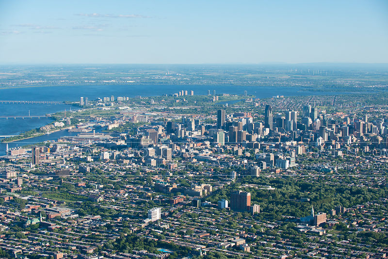 Montreal City Skyline 2014