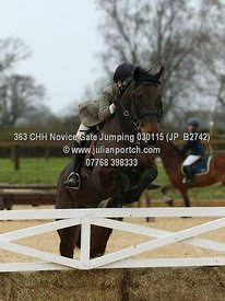 CHH - Class 3 - Novice Gate Jumping