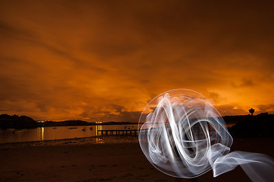 lightpainting photos