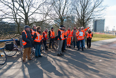 Guided Tour Construction Works A9 Amsterdam -