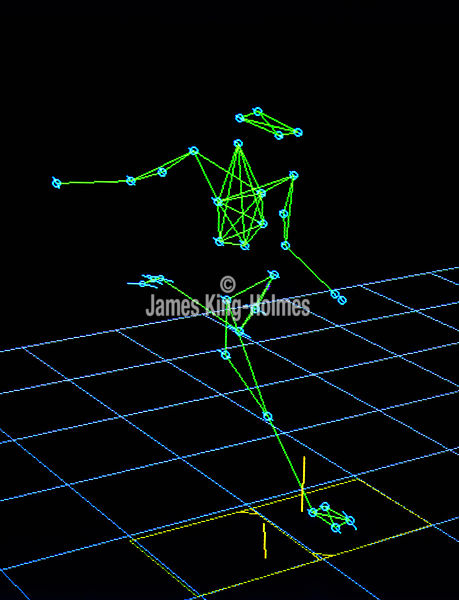 Motion analysis of a footballer