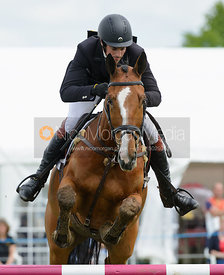 Ben Way and MASTER TRUMP - Rockingham Castle International Horse Trials 2016
