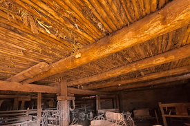 Barn Interior at Hubbell Trading Post