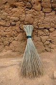A brush used to sweep homes with. Rwanda