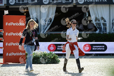 Reed KESSLER ,(USA) during Coca-Cola Trofey competition at CSIO5* Barcelona at Real Club de Polo, Barcelona - Spain