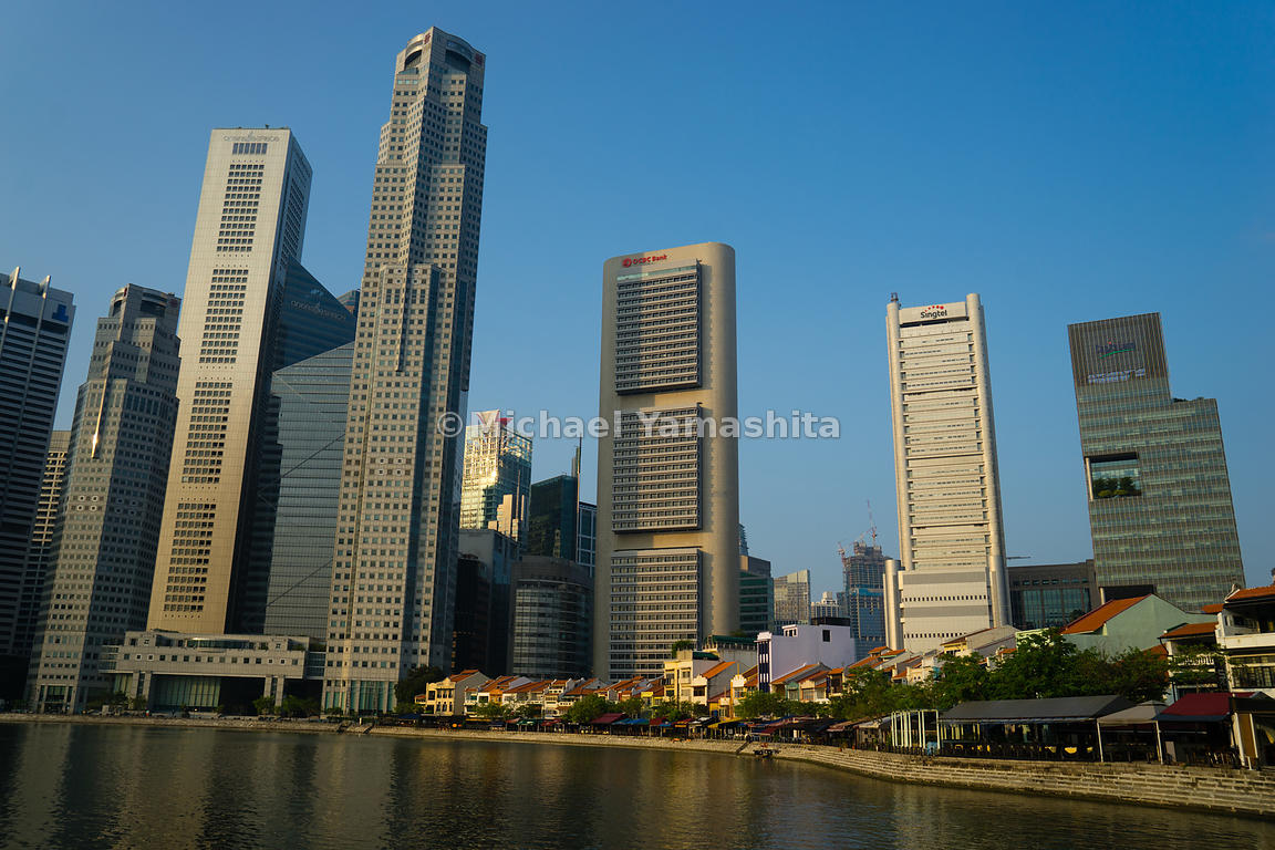 In its early historical chapters, Singapore's pioneering trading community grew around the Singapore River. A centre of trade, commerce and finance, the river mouth in the bygone days boasted the banks, ships' chandlers and warehouses essential to a burgeoning trading port. Today, it remains vitally vibrant.