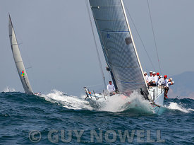 St Regis China Coast Regatta 2013 -  Race day 1 - Signal 8