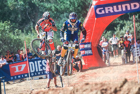 DAVE CULLINAN AGAINST MIKE KING STELLENBOSCH, SOUTH AFRICA.  DUAL WORLD CUP 1998