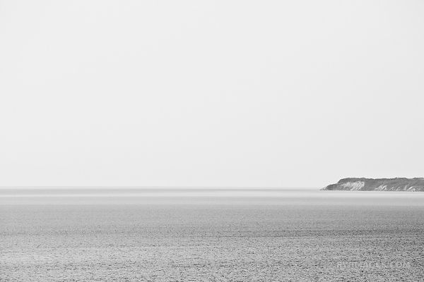 LAKE MICHIGAN EMPIRE BLUFF TRAIL SLEEPING BEAR DUNES MICHIGAN BLACK AND WHITE