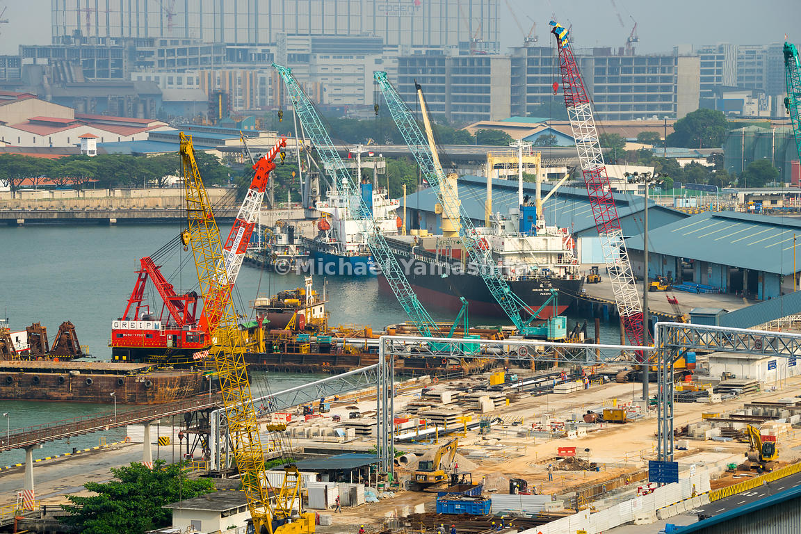 Jurong Port is continuously innovating and improving its infrastructure and capabilities to handle more cargo.