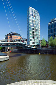 Eye Tower and River Avon, Temple Quay, Bristol.