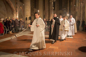 Toulouse, les Jacobins, messe et procession pour Saint Thomas