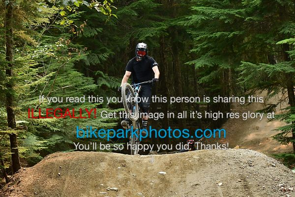Wednesday August 22nd Heart of Darkness bike park photos