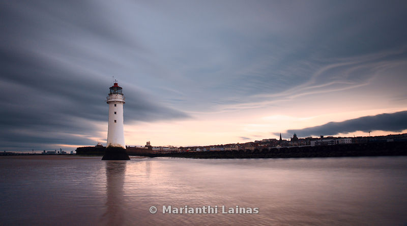 Stormy light at New Brighton