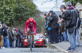 The Cyclist Jacopo Guarnieri - Paris-Nice 2016