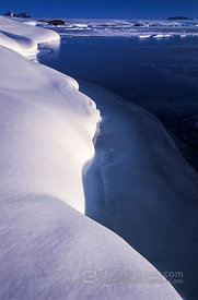 Snow Covered Coast