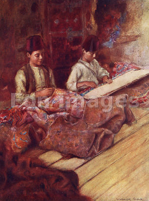 Carpet-menders by Warwick Goble